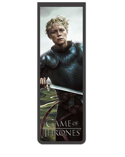 Marcador De Página Magnético Brienne - Game of Thrones - GOT44