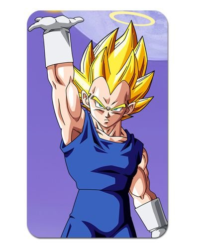 Ímã Decorativo Vegeta - Dragon Ball Z - DBZ018