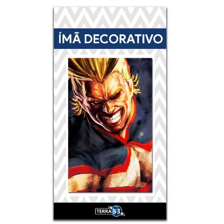Ímã Decorativo All Might - My Hero Academia - MHA013