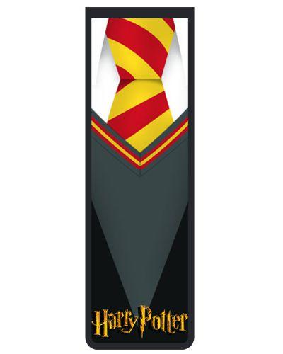 Marcador De Página Magnético Uniforme Hogwarts - Harry Potter - HP02