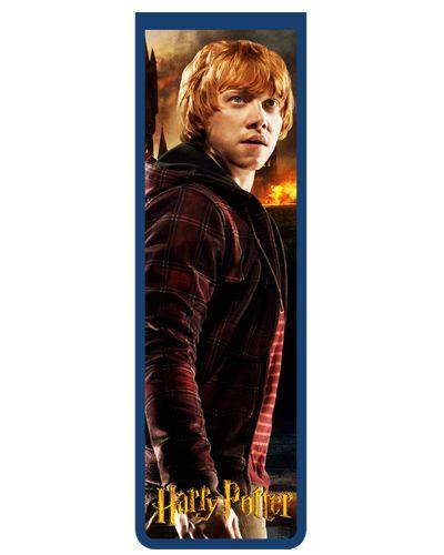 Marcador De Página Magnético Ron Weasley - Harry Potter - HP09