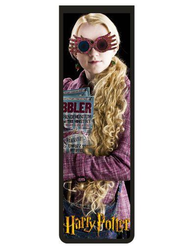 Marcador De Página Magnético Luna Lovegood - Harry Potter - HP22