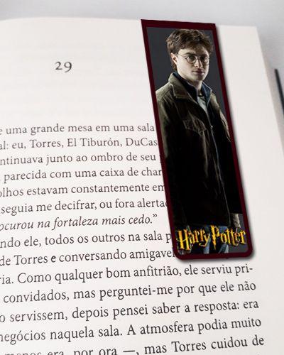 Marcador De Página Magnético Harry Potter - HP31