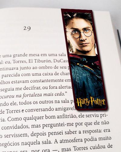 Marcador De Página Magnético Harry Potter - HP34