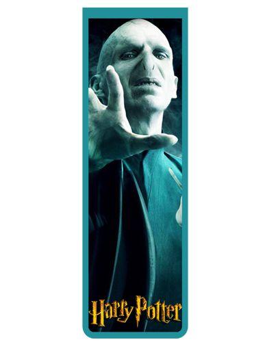 Marcador De Página Magnético Voldemort - Harry Potter - HP37