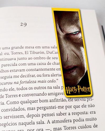 Marcador De Página Magnético Voldermort - Harry Potter - HP41
