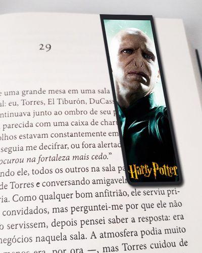 Marcador De Página Magnético Voldemort - Harry Potter - HP50