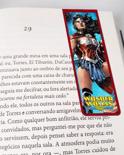 Marcador De Página Magnético Mulher-Maravilha - WW08