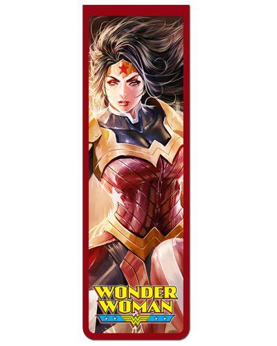 Marcador De Página Magnético Mulher-Maravilha - WW09