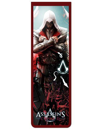 Marcador De Página Magnético Ezio Auditore - Assassin's Creed - AC03