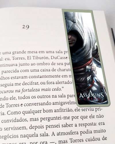 Marcador De Página Magnético Altair - Assassin's Creed - AC06