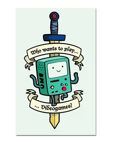 Ímã Decorativo Beemo - Adventure Time - IAT009