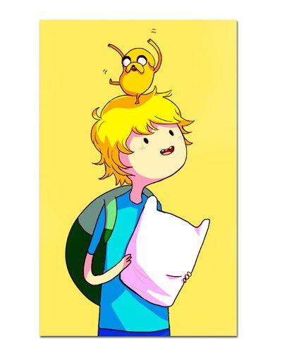 Ímã Decorativo Finn - Adventure Time - IAT010