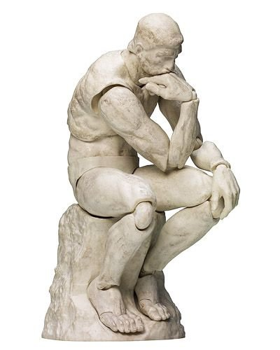 The Thinker Plaster Version - The Table Museum Figma