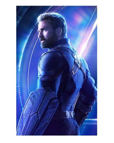 Ímã Decorativo Capitão América - Avengers Infinity War - IMAVI01