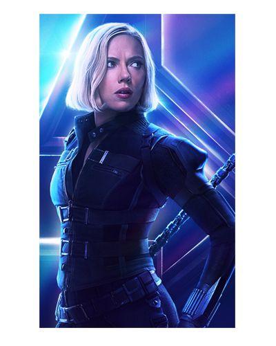 Ímã Decorativo Black Widow - Avengers Infinity War - IMAVI02