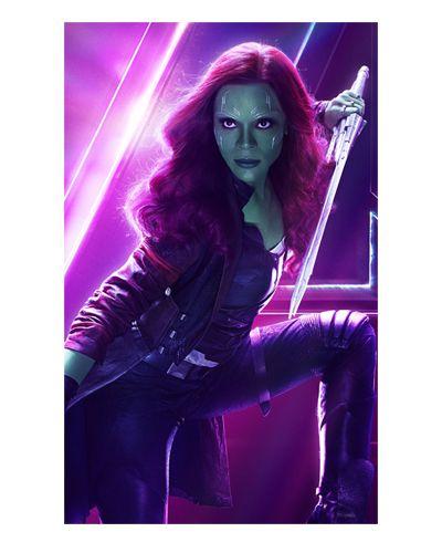 Ímã Decorativo Gamora - Avengers Infinity War - IMAVI07