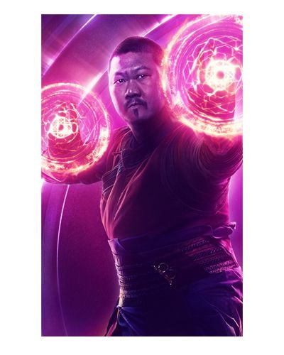 Ímã Decorativo Wong - Avengers Infinity War - IMAVI17
