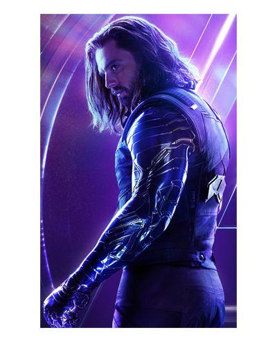 Ímã Decorativo Winter Soldier - Avengers Infinity War - IMAVI18