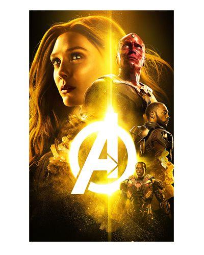 Ímã Decorativo Avengers Infinity War - IMAVI24