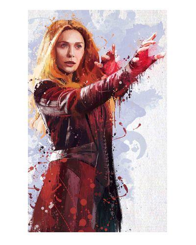Ímã Decorativo Scarlet Witch - Vingadores Guerra Infinita - IMAVI37