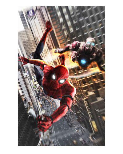 Ímã Decorativo Spider-Man e Iron Man - Homecoming - IMSMH05