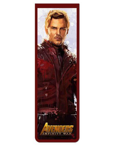 Marcador De Página Magnético Star-Lord - Avengers - MAVI01