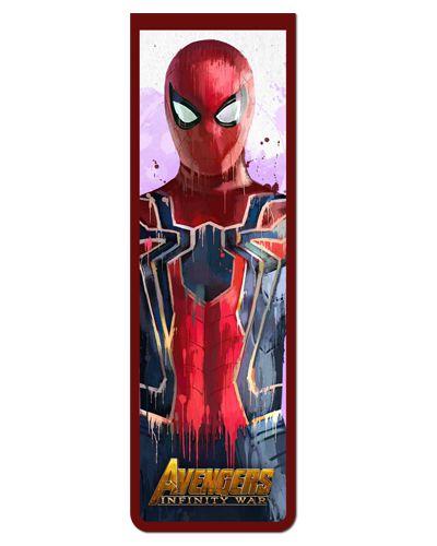 Marcador De Pagina Magnetico Spider Man Avengers Mavi03 Terra 53