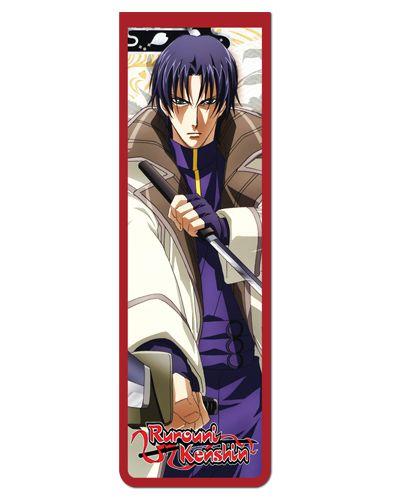 Marcador De Página Magnético Aoshi - Samurai X - MRK04