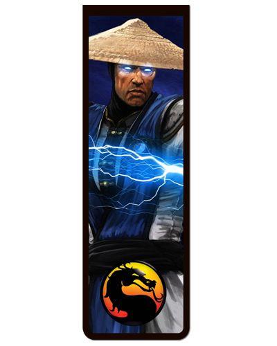 Marcador De Página Magnético Raiden - Mortal Kombat - MMK05