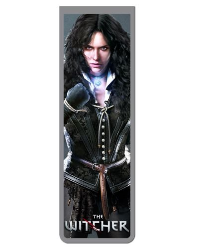 Marcador De Página Magnético Yennefer - The Witcher - MTW09
