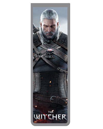 Marcador De Página Magnético Geralt - The Witcher - MTW10