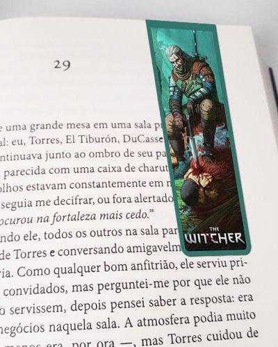 Marcador De Página Magnético Geralt - The Witcher - MTW12