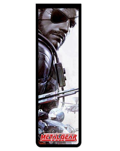 Marcador De Página Magnético Venon Snake - Metal Gear - MMG02