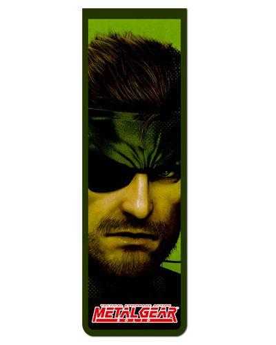 Marcador De Página Magnético Solid Snake - Metal Gear - MMG06