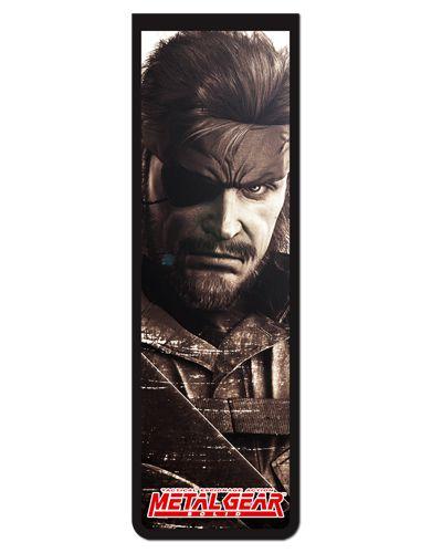 Marcador De Página Magnético Naked Snake - Metal Gear - MMG07