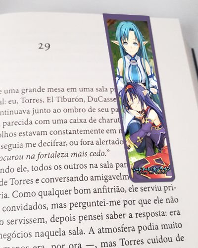 Marcador De Página Magnético Asuna e Yuuki - Sword Art Online - MSAO07