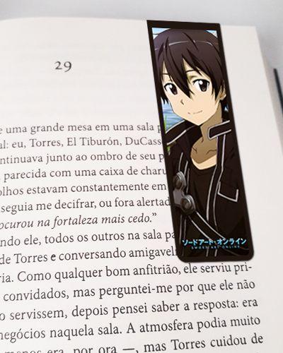 Marcador De Página Magnético Kirito - Sword Art Online - MSAO30