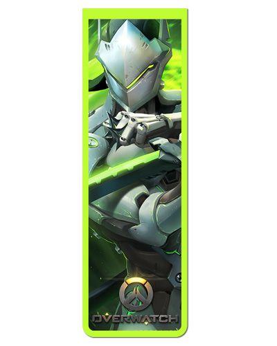 Marcador De Página Magnético Genji - Overwatch - MOW14