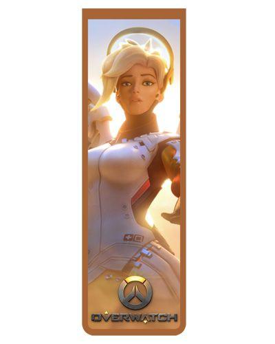 Marcador De Página Magnético Mercy - Overwatch - MOW22