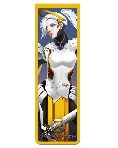 Marcador De Página Magnético Mercy - Overwatch - MOW30