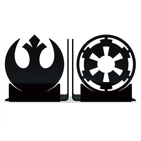 Porta Livros Rebeldes vs Império - Star Wars