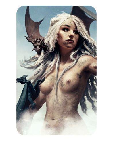 Ímã Decorativo Daenerys - Game of Thrones - IGOT08
