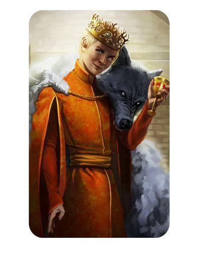 Ímã Decorativo Joffrey - Game of Thrones - IGOT12
