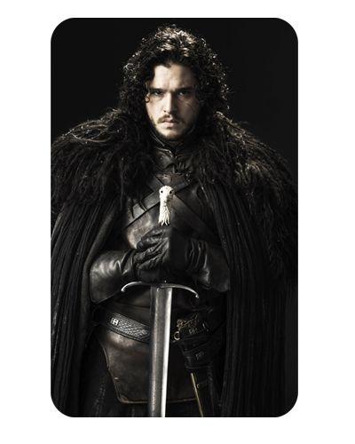 Ímã Decorativo Jon Snow - Game of Thrones - IGOT25