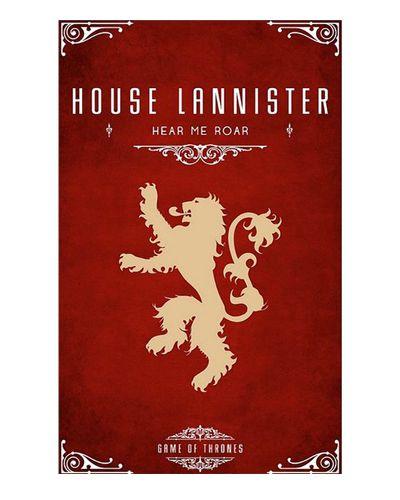Ímã Decorativo House Lannister - Game of Thrones - IGOT39