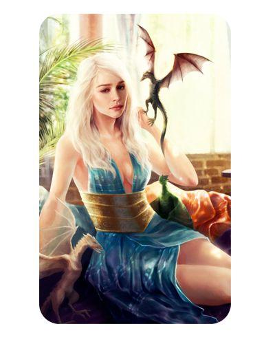 Ímã Decorativo Daenerys - Game of Thrones - IGOT48