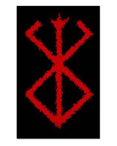 Ímã Decorativo Symbol Berserk - Berserk - IBK21