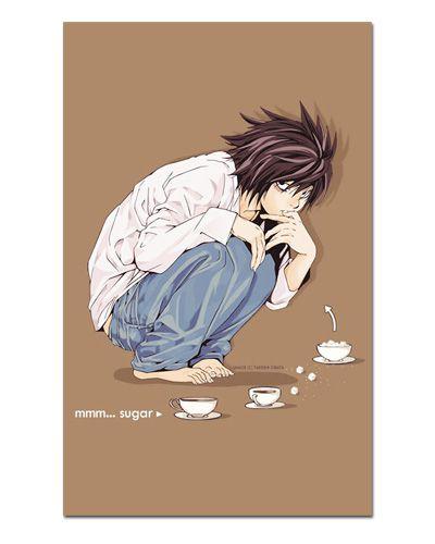 Ímã Decorativo Ryuzaki - Death Note - IDN05