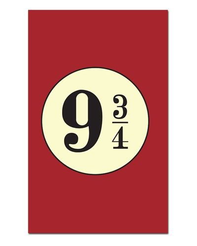 Ímã Decorativo Plataforma 9 3/4 - Harry Potter - IHP05